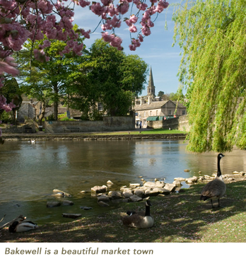 Bakewell is a beautiful market town