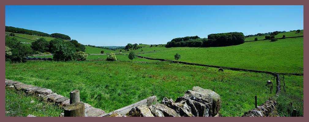 Views from Church Farm near Dovedale