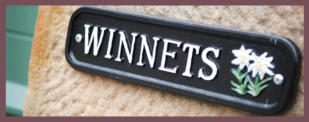Winnets Sign