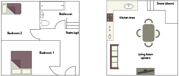 Pinster Cottage Floorplan