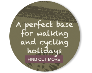 A perfect base for walking and cycling holidays
