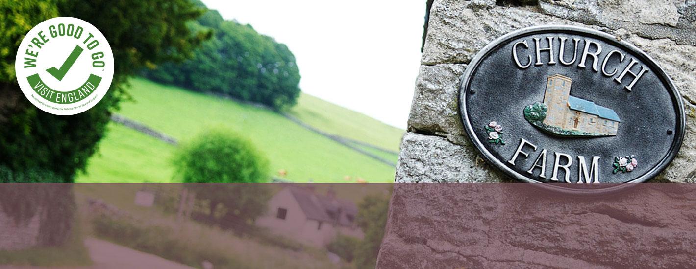church farm sign post good to go